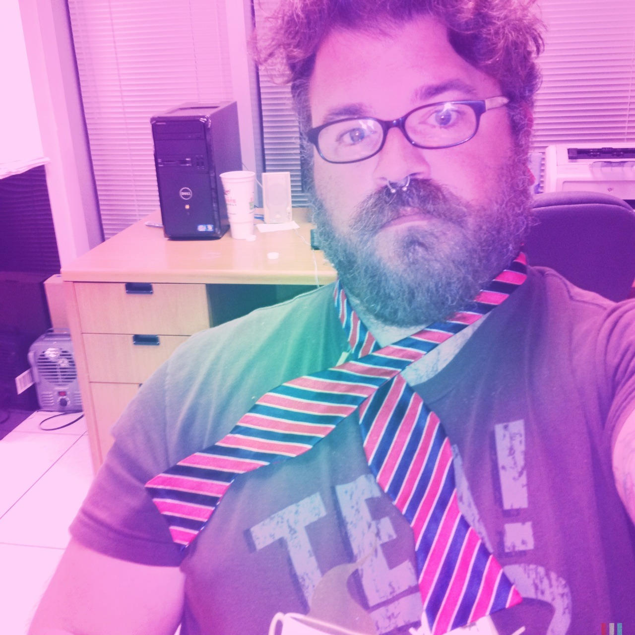 Bowties may be cool, but they are a bitch to learn how to tie! Adler 9009 Lens, Blanko Freedom13 Film, Berry Pop Flash, Taken with Hipstamatic