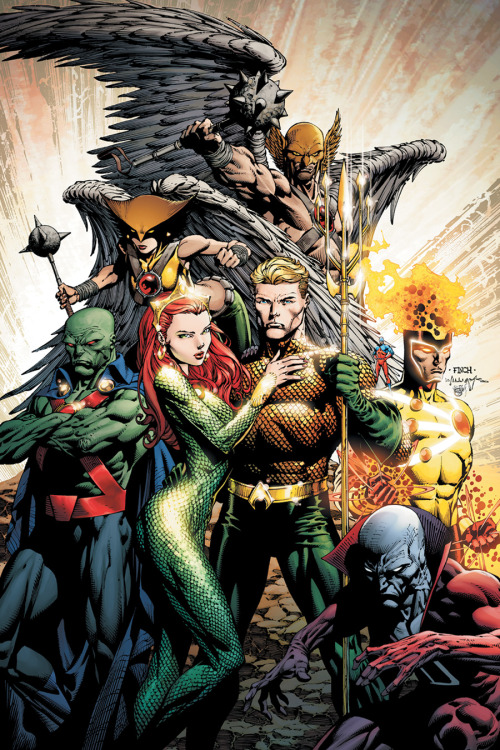 comicbookdeviant:  Brightest Day #3 // Cover Art by David Finch