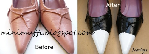 Shoe remake DIY step by step!