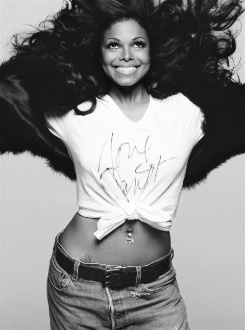 Janet Jackson photoshoot for Harper's Bazaar 2003