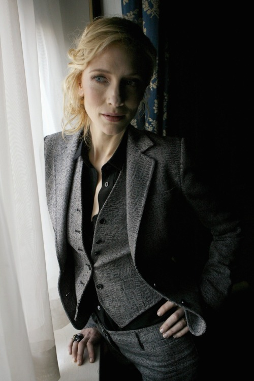 Cate Blanchett photoshoot for The Good German