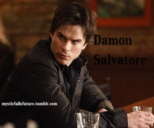 Damon Salvatore. 23 (since 1864). Vampire. FC: Ian Somerhalder [OPEN] Friendly with: Stefan, Caroline, Elena. While things did not work out between him and Elena. They remained friends. Stefan and Damon got close again. His and Caroline's friendship is a fiery one, but they remain close as best friends. Hostile towards: The Original Family. Katerina Petrova.  Has always harbored feeling for Elena, but kept them quiet when she didn't choose either of the brothers.   Still wants the Originals dead because he knows they'll eventually find Elena and probably want her dead after finding out she's a vampire.   Has checked in on Mystic Falls every couple of years, but not since Katerina moved back. AUDITIONS OPEN! GO TO THE MAIN PAGE AND CLICK 'APPLICATIONS'