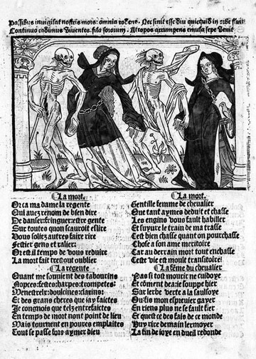 Women's dance of death.