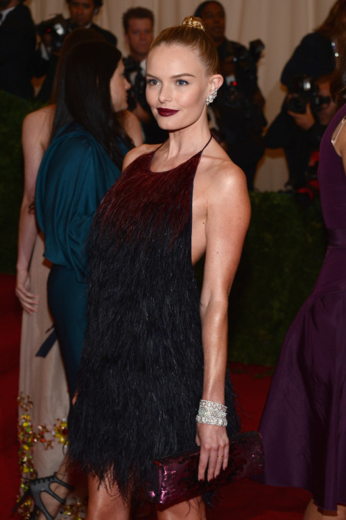 kate bosworth in prada at the 2012 met gala