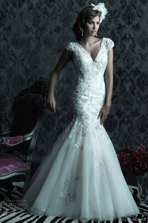 helloweddingdiary:  Allure Bridals Fall 2012 couture collection