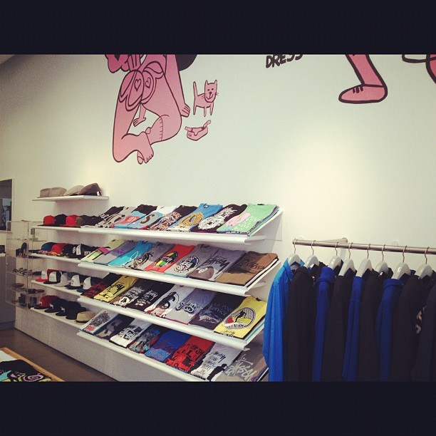 #stussy got a nice layout  (Taken with instagram)