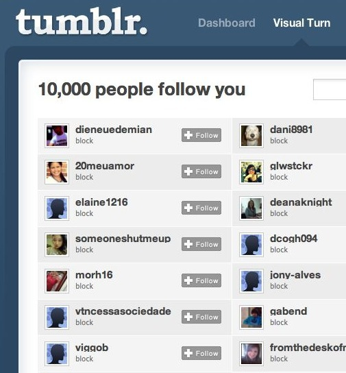 Amazing … this Tumblr now has more than 10,000 followers! I am honored and humbled that so many total strangers find my idiosyncratic postings to be of interest. I am one of those people who believes that all of humanity is quite closely connected, and this is an inspiring manifestation of that idea. A special shout to Die Neue Demian for being my first five-digit follower! I also feel particularly privileged to be a contributor to the truly vibrant #Education community on Tumblr. I greatly admire the passion and commitment Tumblr educators show to your students and your fellow teachers. Sabbe sattā sukhi hontu. — Visual Turn