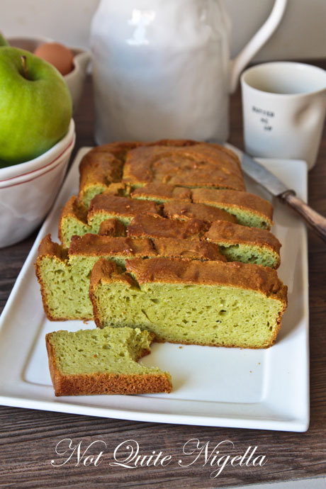 Avocado Pound Cake (via Not Quite Nigella)