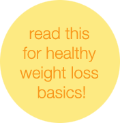 "Steps for healthy weight loss, and keeping it off for good!  Weight loss = calories burned > calories consumed. 3500 calories = 1lb fat The recommended healthy amount of fat to lose = 1-2lbs per week.  If you aim to lose more, your weight loss is too fast. The faster you lose weight, the more likely you'll gain it back. You'll make a dramatic and unsustainable change in your diet/lifestyle, and then you'll switch back to your old ""bad"" ways. Slow weight loss = permanent weight loss. Creating a 500 calorie deficit per day = 1lb of fat loss per week (500x7=3500). Everyone already burns 1200+ calories each day just by leading a sedentary life, by being a couch potato. This is called your AMR. You can create a calorie deficit through cutting calories from food and through exercise. It is more beneficial to burn calories through exercise over cutting calories from food.  Everyone has a specific BMR according to their stats (age, height, weight). This is the MINIMUM amount of calories your body requires in order to survive and keep your heart beating, lungs working, other organs working, etc. Eating below your BMR will slow down your metabolism. In turn, you will burn less and less calories because your body thinks it's starving. This is a natural mechanism in our bodies to protect itself. There is no way around it. Your metabolism WILL slow down. Period. Eventually you will plateau.  Creating a deficit that is too high, will also slow down your metabolism because your body is not getting enough energy to sustain itself. Your muscle will start breaking down, you'll be worn out, etc. Creating a 500 calorie deficit from food will put you way below your BMR, and your metabolism WILL slow down over time. It is better to create a 500 calorie deficit from exercise which will INCREASE your metabolism, making you burn more calories, it will build muscle, which will also allow you to burn calories, and you will have tons more energy, and thus will be able to burn more calories. By eating enough, you will preserve your muscle and burn off fat. If you don't get enough energy, your body will metabolize muscle, thus making you burn less calories and slowing down your metabolism.  Now go here: http://preventdisease.com/healthtools/articles/bmr.shtml to figure out your BMR. Do not eat below that many calories. It's okay to eat below once or twice a week on your REST DAYS. Just make sure it's not by more than 200-300 calories. You probably won't burn much fat by cutting calories from food. (If you are 17 years old or younger, add 500 to the number you get. This calculator is for adults, not teens.) Once you've figured out your BMR, time to figure out your AMR (daily burn). http://caloriecount.about.com/cc/calories-burned.php Set the level to sedentary. This is how many calories your body burns being a couch potato. If you're more active in your lifestyle (you walk around campus/school a lot or at work, then set your level to lightly active, if you play sports then you're moderately active, etc). You obviously burn more calories if you're a tad bit more active. (If you are 17 years old or younger, add 500 to the number you get. This calculator is for adults, not teens.) Eat the amount of calories between your BMR and AMR (rounded up), and then burn 300-500 calories through exercise. Add the amount of calories to your AMR number, to give you the total burn for the day. Then subtract the amount of calories you ate to find out your daily deficit. So for example: My BMR is 1500. My AMR is 1700. If I burn 500 calories at the gym, that brings my burn total up to 2200. If I eat 1600 calories, that gives me a deficit of 600 calories. If I repeated this 6 more times, I would lose 1lb of fat. If I wanted a 1000 calorie deficit (to burn 2lbs a week), I would burn 900 calories at the gym. DO NOT CUT EXTRA CALORIES FROM YOUR FOOD IF YOU PLAN ON HAVING SUCH A HIGH DEFICIT. IT IS COUNTER PRODUCTIVE AND YOU WILL END UP METABOLIZING YOUR MUSCLE. BAD! Not to mention, you would wear yourself out if you tried burning that much. And you would end up getting the munchies! This is why a 500 calorie deficit is HEALTHIEST. If you plan on having a higher deficit, you need to eat a lot more. I would probably eat around 2000-2200 calories if I planned on burning 900 at the gym. The reason you eat a few hundred calories ABOVE your BMR is to ensure your metabolism doesn't slow down. If you only eat your BMR, plus do 300 calories worth of exercise, that's 300 calories your body is burning toward activity, and not toward maintaining the body. So your body will slow down your metabolism to compensate for that energy loss.Cardio is for burning fat. Strength training is for building muscle. Both are equally important when it comes to losing weight. Incorporate both into your workout routine for optimal results. Doing JUST cardio or JUST strength training will not give you optimal results and you will eventually plateau.  I hope this helps! If you have any questions feel free to message me. This was written by inspiremefit"