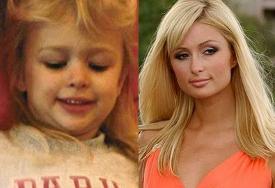 then-n-now:  Paris Hilton