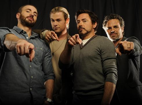 """I told you, I don't want to join your super-secret boy band."" -Tony Stark Liar!"