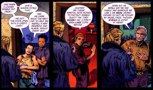 magnificentbastich:  NW #87 Good Guy Dick Grayson. (Also Yoska. What)