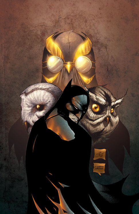 Court of Owls Colors by ~cheinrich1981  If you don't love the current Batman comic, you know nothing about comics.