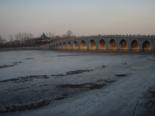 Summer Palace grounds near Beijing, China