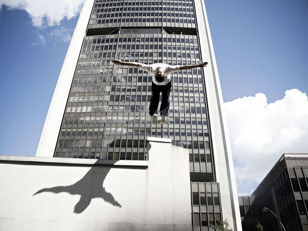 (vía Parkour Picture – Montreal Photo - National Geographic Photo of the Day)