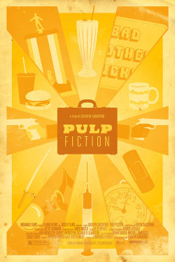 boogiesbc:  Pulp Fiction unofficial poster
