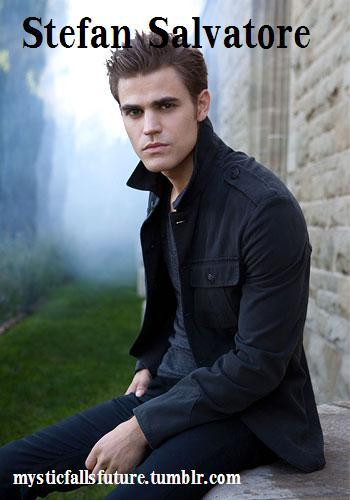 Stefan Salvatore. 17 (since 1864). Vampire. FC: Paul Wesley [OPEN] Friendly with: Caroline, Elena and Damon. He hated Klaus for what he had done to him, but he he missed his friendship all of the same. He would always love Elena, but they were only friends now. Hostile towards: The Original Family (although its a cover up with Klaus) and Katerina Petrova.  Unlike his brother, Stefan has dated a few people over the years since leaving Mystic Falls. But found no one serious.   Is on human blood still, but has gotten a lot better at controlling it.   Still wants to kill Katherine when he sees her again AUDITIONS OPEN! GO TO THE MAIN PAGE AND CLICK 'APPLICATIONS'