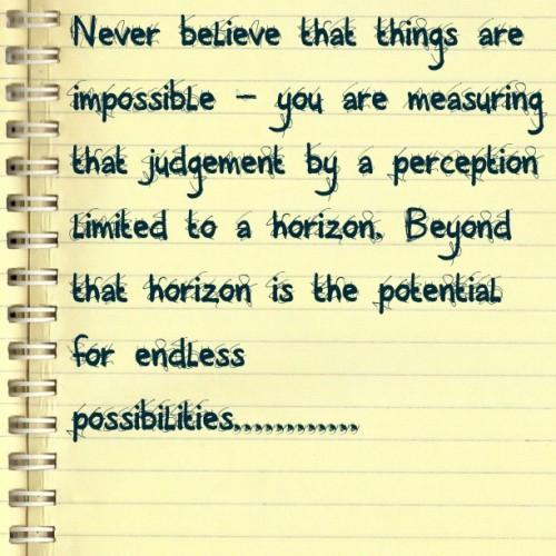 possibilities (Taken with instagram)