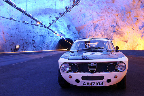 Back to the ice age Starring: Alfa Romeo Gta (by ulfbot)