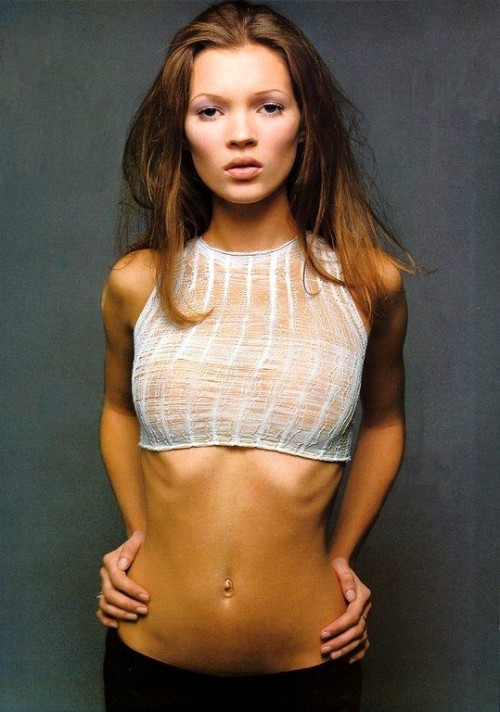 weightedgirl:  kate moss