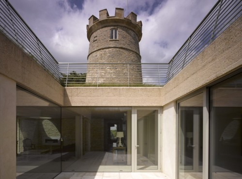 The Round Tower by De Matos Ryan Architects Conversion of a heritage listed tower to a contemporary home designed around a fully glazed courtyard.