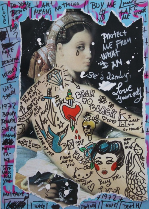 Buy Me I Am Cheap. Mixed media on paper. More Artworks in: WWW.IAMGOD.EU http://www.facebook.com/Roberta.Marrero.Art