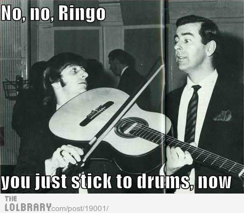 funnyshithappens:  Ringo, you so silly Follow this blog for the best new funny pictures every day