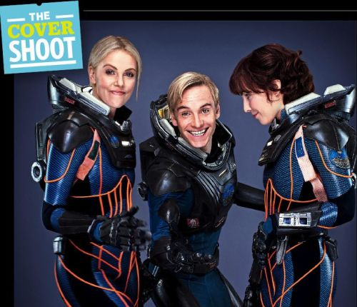 the cast of PROMETHEUS on EW