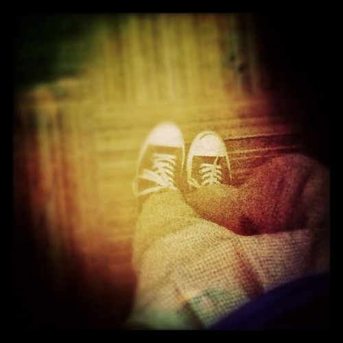 Babeh @piqopiq's outfit for opa #morrissey (Taken with instagram)