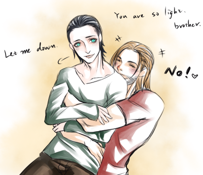 Thorki can be sweet or unhappy.  I like it both.