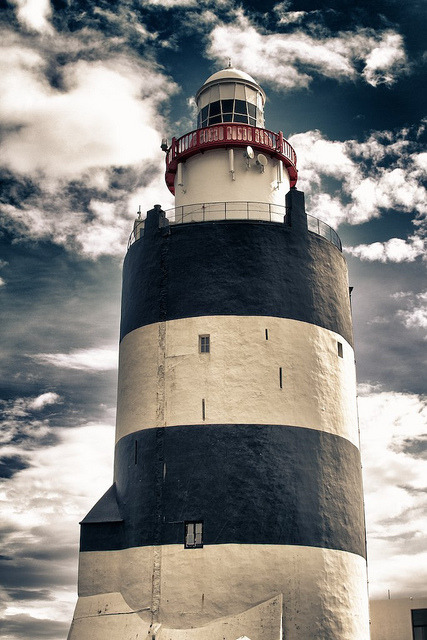 valscrapbook:  Hook Lighthouse by Dunmore Studio on Flickr.