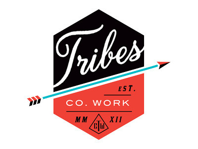 (via Dribbble - Tribes Final Seal Final Logo by Amy Hood)
