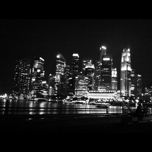 Singapore at night (Taken with instagram)