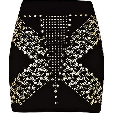 We love this studded skirt from River Island. You too?