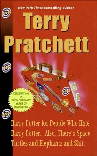 betterbooktitles:  Terry Pratchett: The Color of Magic Reader Submission: Title and Redesign by Jerrison Moore.