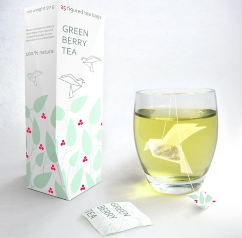Green berry tea