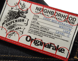 NEIGHBORHOOD X ORIGINALFAKE – 6TH ANNIVERSARY COLLECTION
