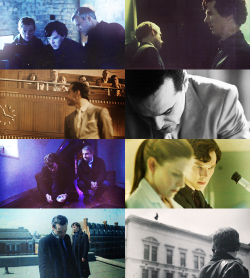 Sherlock - 8 caps per episode - The Reichenbach Fall