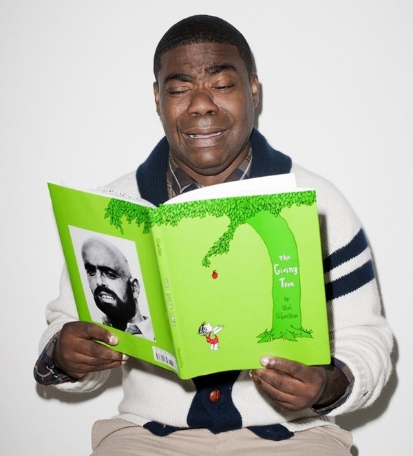 Tracy Morgan reads.