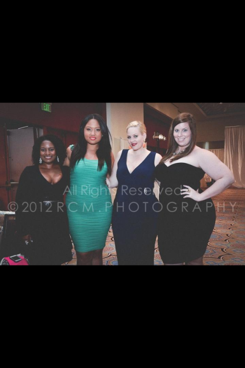 Team Hiett with model Griselangel Paula and makeup artist extraordinaire Tara Taylor at Fashion Passport in Puerto Rico