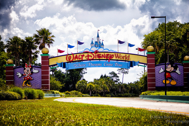 The Entrance to Walt Disney Resort on Flickr.Walt Disney World Where dreams come true
