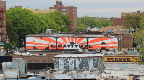 MCA Gratitude tribute mural in Midwood Brooklyn by Entree Lifestyle