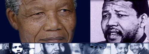 "May 10, 1994: Nelson Mandela Becomes President of South Africa On this day in 1994, Nelson Mandela was inaugurated as South Africa's first black president. Mandela had spent 27 years imprisoned for working in the anti-apartheid movement. FRONTLINE's ""The Long Walk of Nelson Mandela"" site takes an inside look at his childhood, revolutionary years, imprisonment, and personal life."