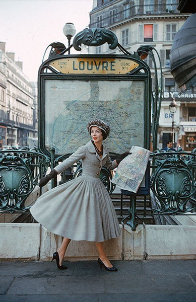 Louvre, Paris, 1950's