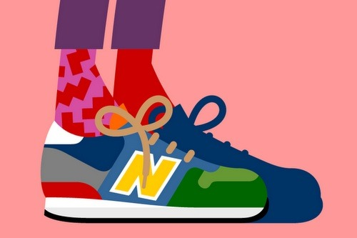 New Balance x Darcel Disappoints  Young mind with a classic brand = Darcel Disappoints