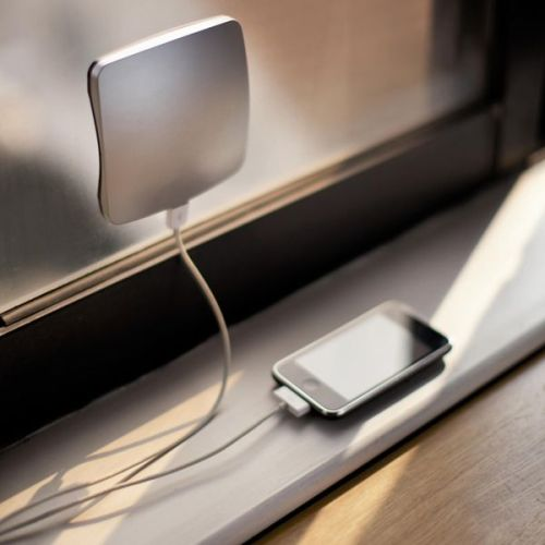 whereisthecoool:  Solar Window Charger