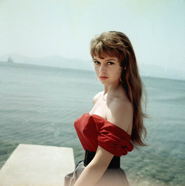 thepieshops:  Brigitte Bardot photographed at the Cannes Film Festival in 1953.