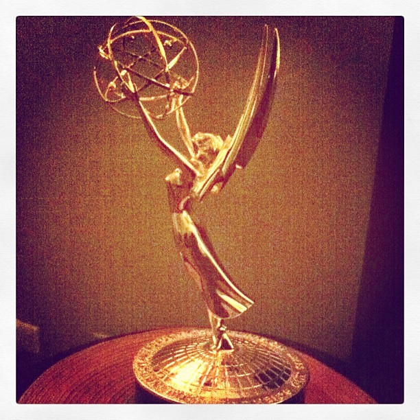 Hello #emmy, you shall be mine one day. 🏆🎥 (Taken with instagram)