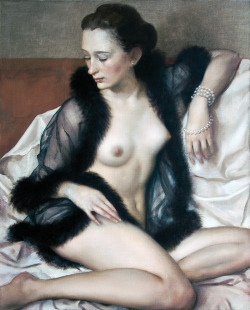Mademoiselle, 2009 Oil on canvasJohn Currin