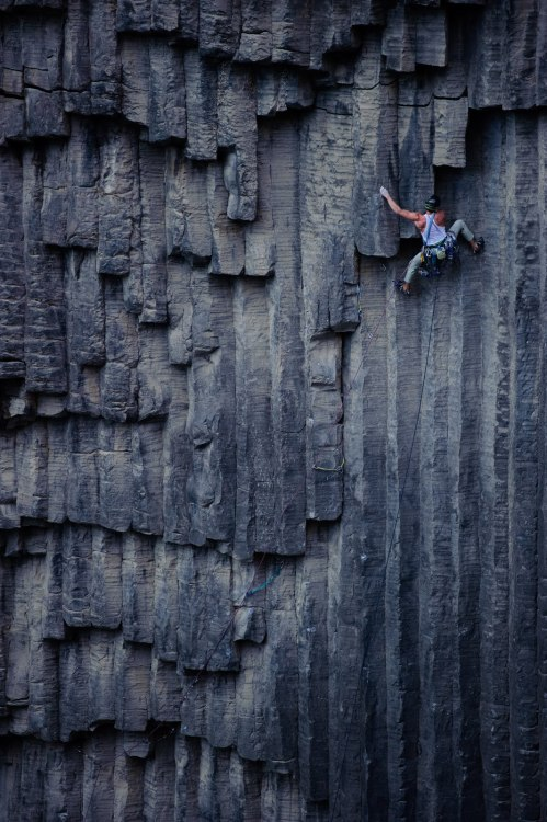 Rock climbing in Armenia